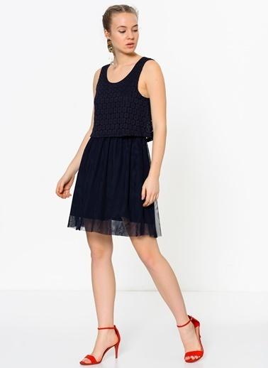 Askılı Kloş Elbise-Only
